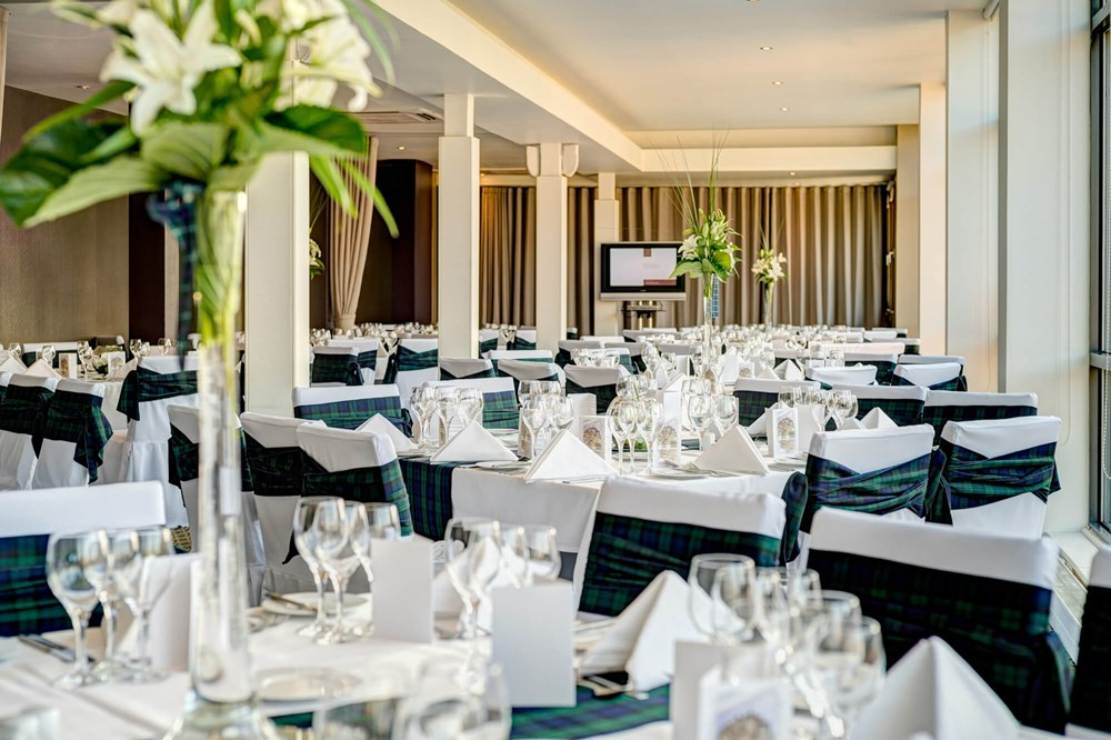 Heights venue set for special occasion with round tables