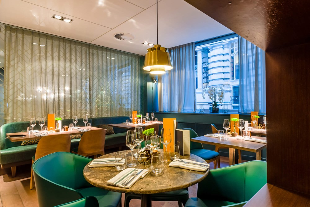 Off The Wall Bar & Grill at Apex London Wall Hotel