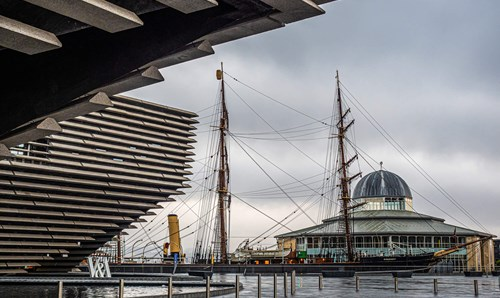 V&A Dundee and RRS Discovery