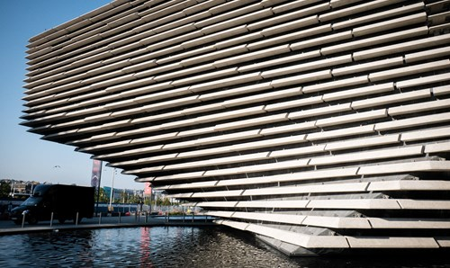 Exterior of V&A Museum in Dundee