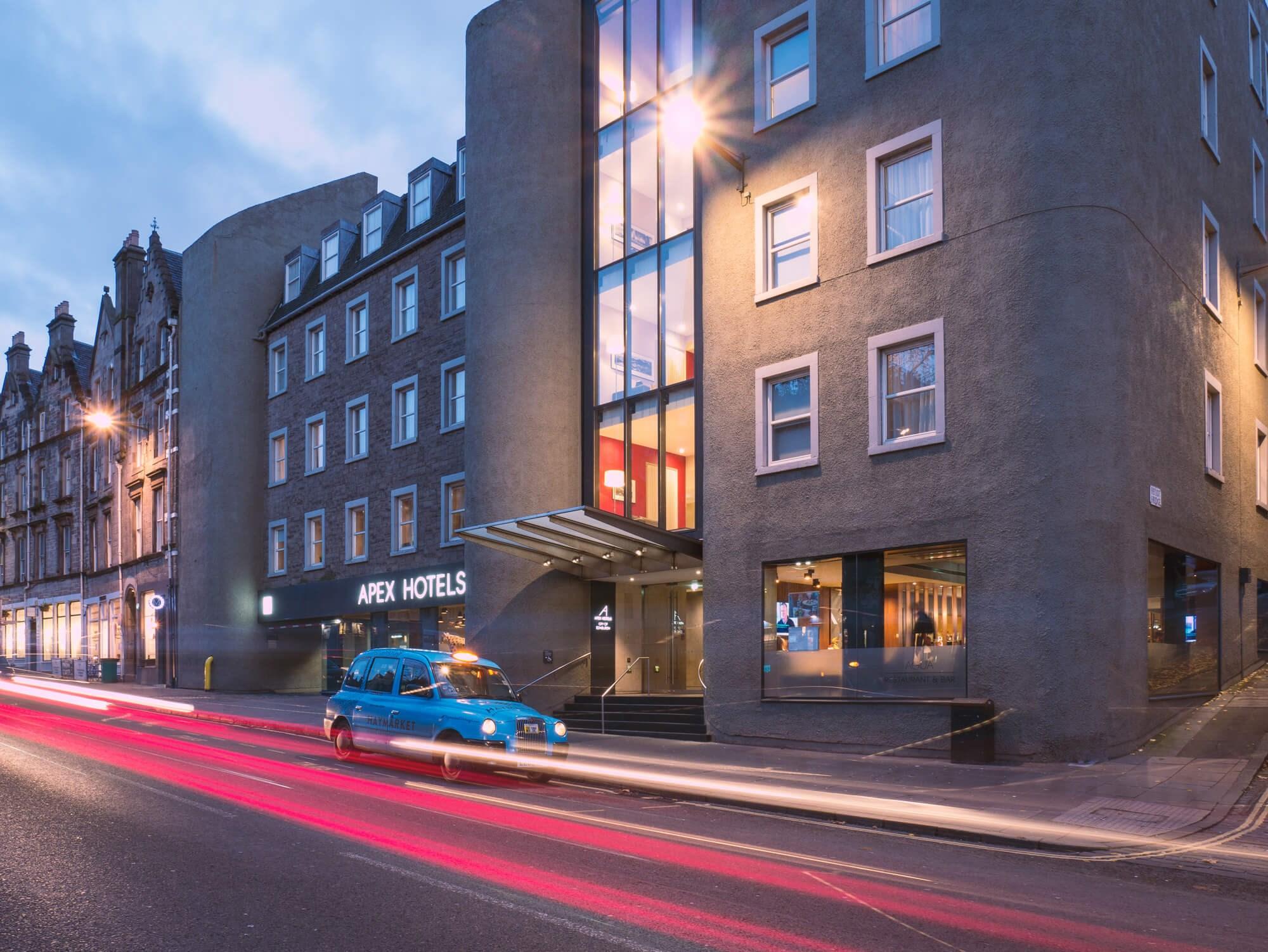 Exterior of Apex City of Edinburgh Hotel