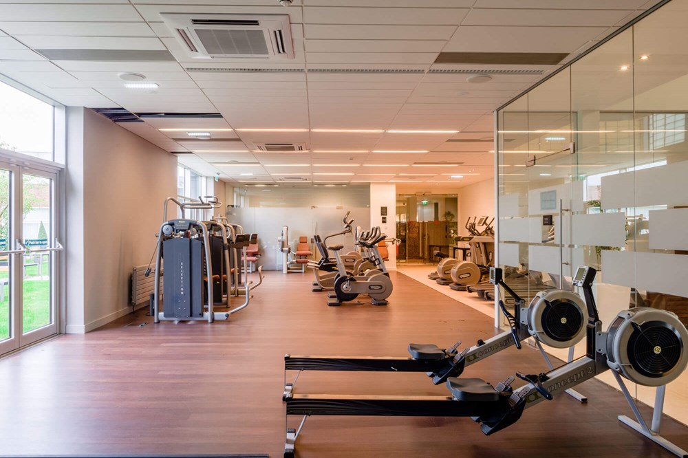 Fully Equipped Gym at Yu Spa, Dundee