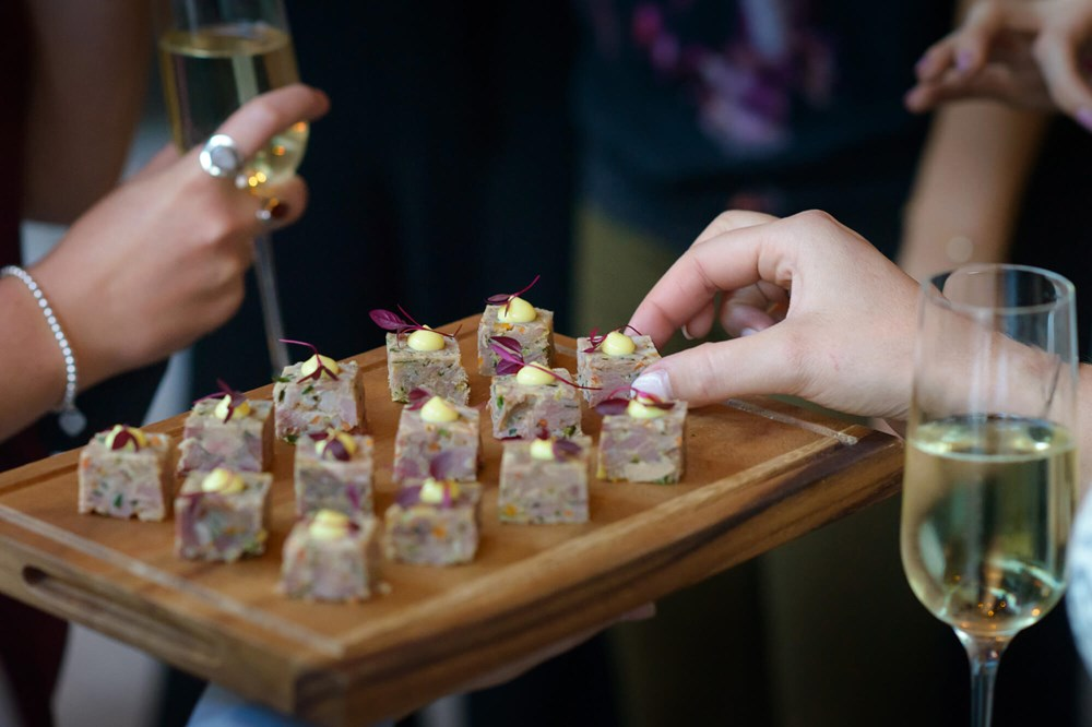 Canapes at The Lampery