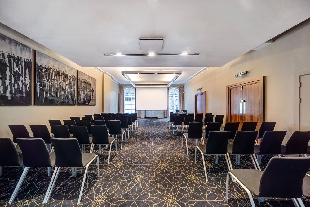 Waterloo Suite set up theatre style for conference/meeting