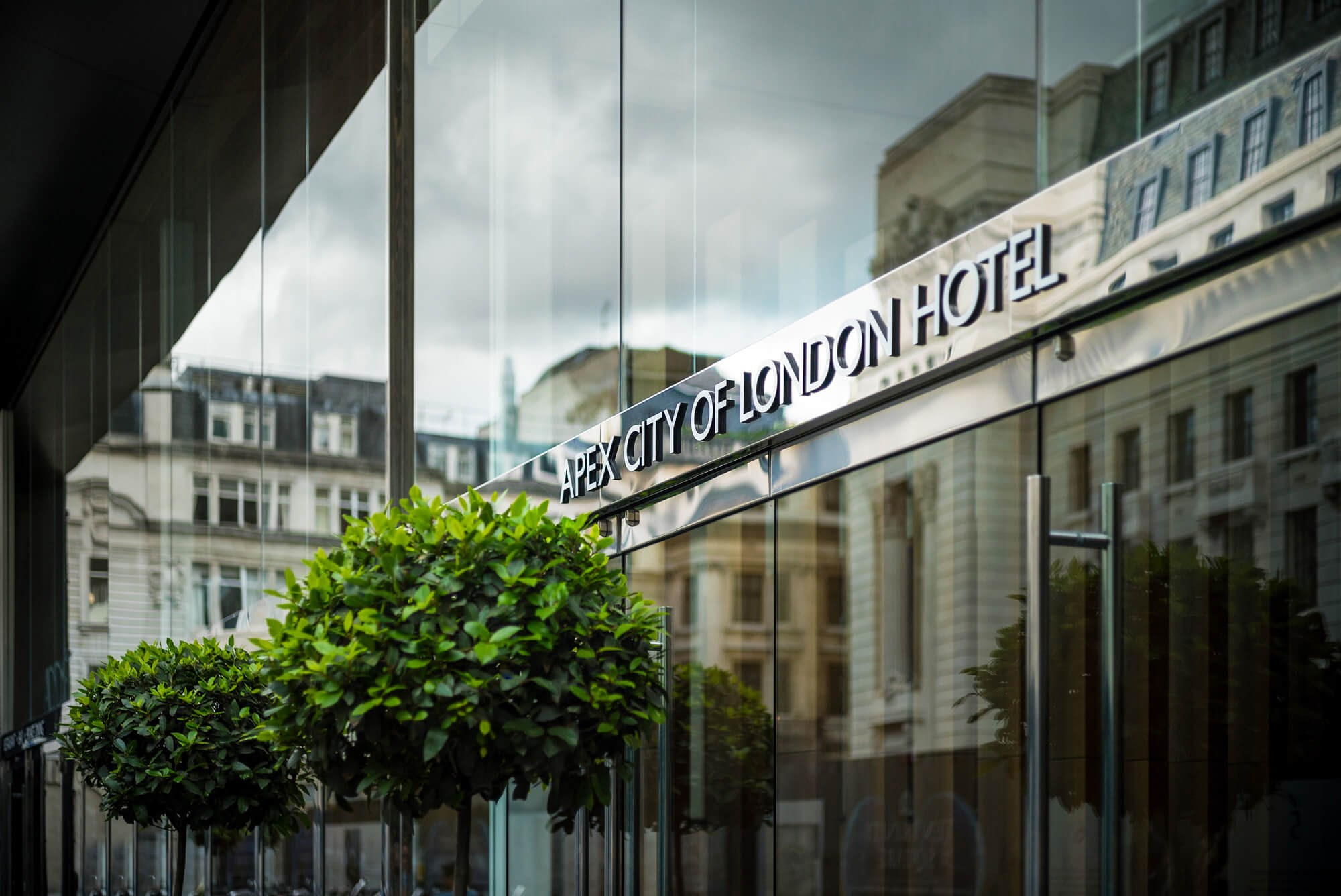 Apex City of London Hotel entrance