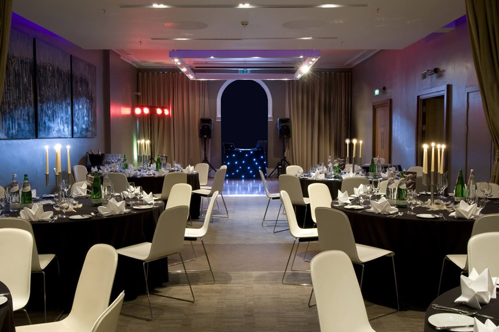 Waterloo Suite set up for special occasion