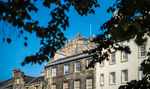 Edinburgh Castle during the day